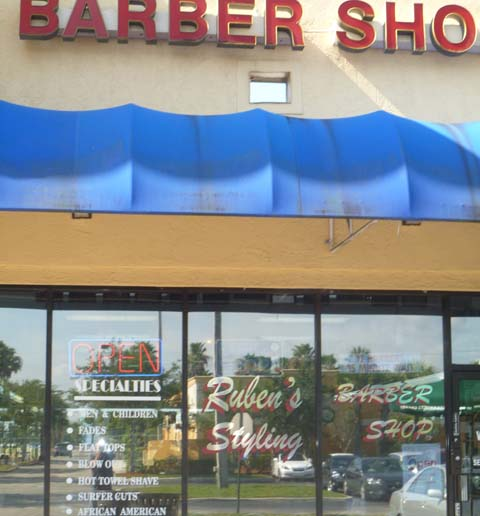 Ruben?s Barber Shop, open 31 years Boca Raton News Most Reliable ...